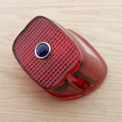 Ju0026P Cycles® Taillight Replacement Lens With Blue Dot