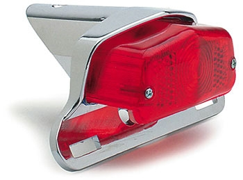 J&P Cycles® Lucas Type Taillight with Die-cast Bracket