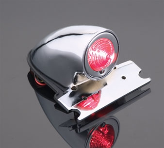 J&P Cycles® Sparto Taillight for Custom Applications