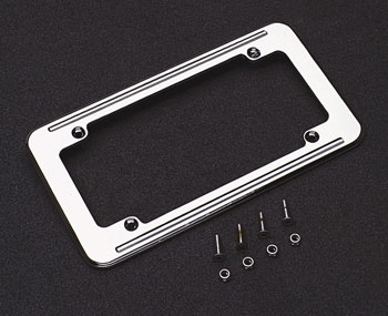 J&P Cycles® Large Format License Plate Frame