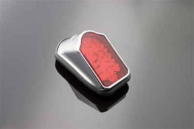 J&P Cycles® Mini Tombstone Taillight Assembly