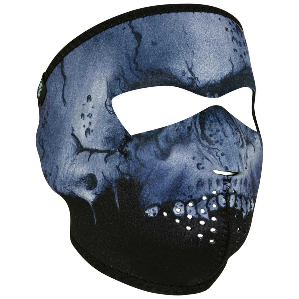 ZAN headgear Neoprene Midnight Skull Full Face Mask