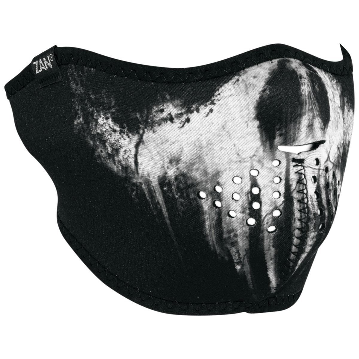 ZAN headgear Neoprene Skull Ghost Half Face Mask