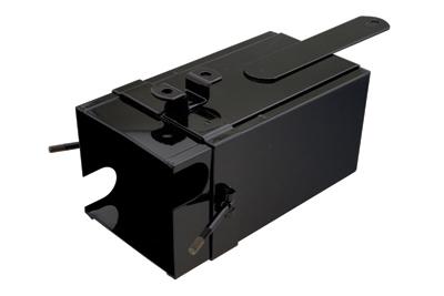 V-Twin Manufacturing Black Battery Box Kit