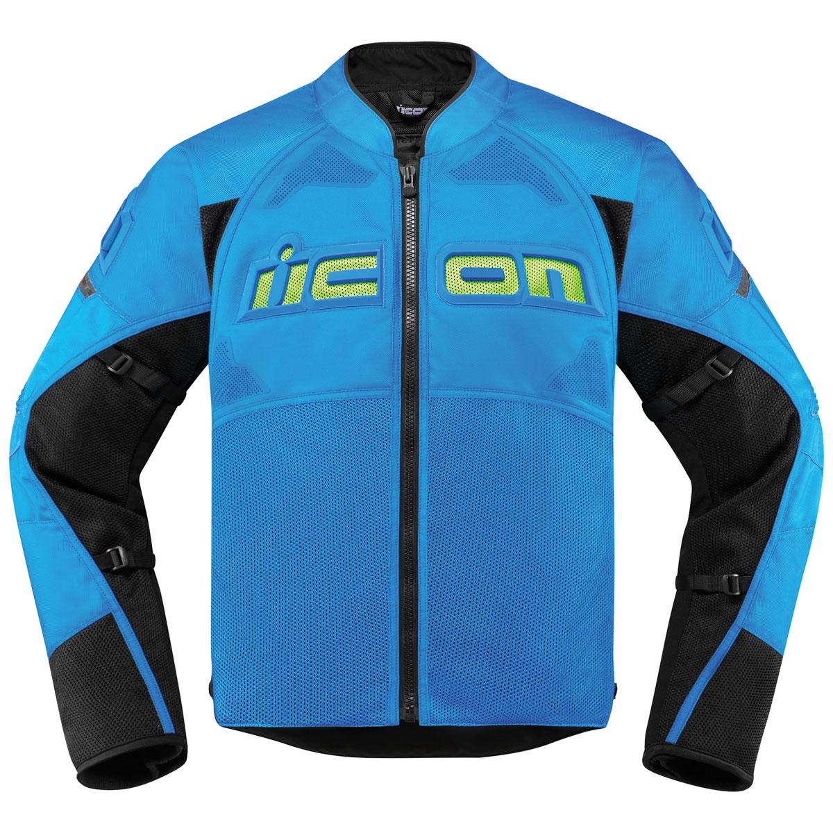 ICON Men's Contra 2 Lite Blue Jacket