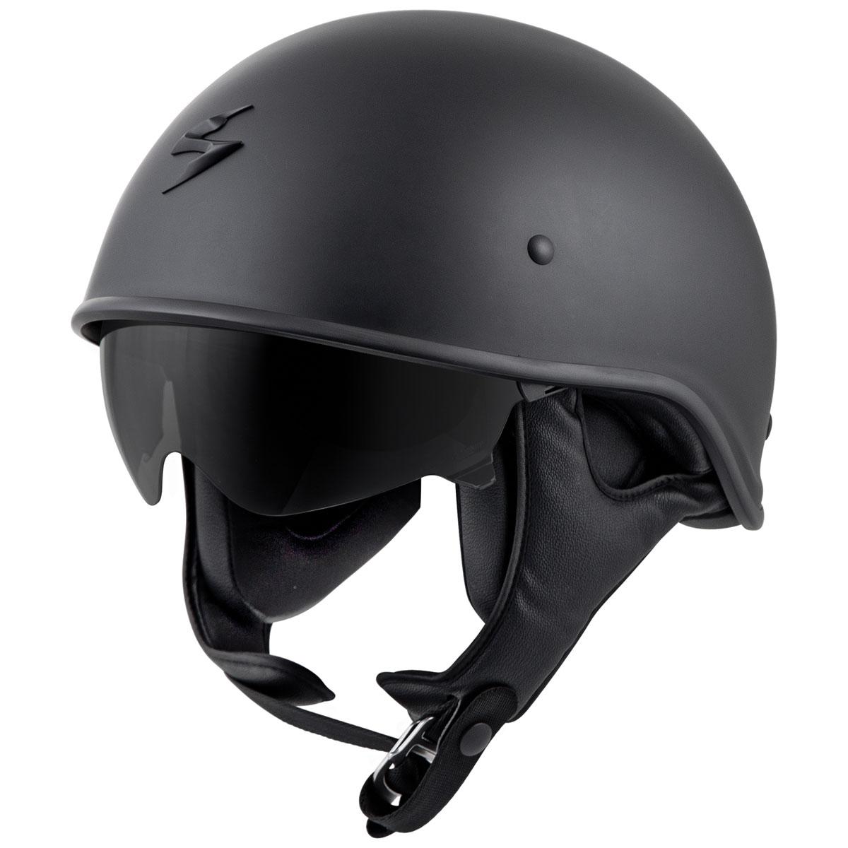 Scorpion EXO EXO-C90 Matte Black Half Helmet