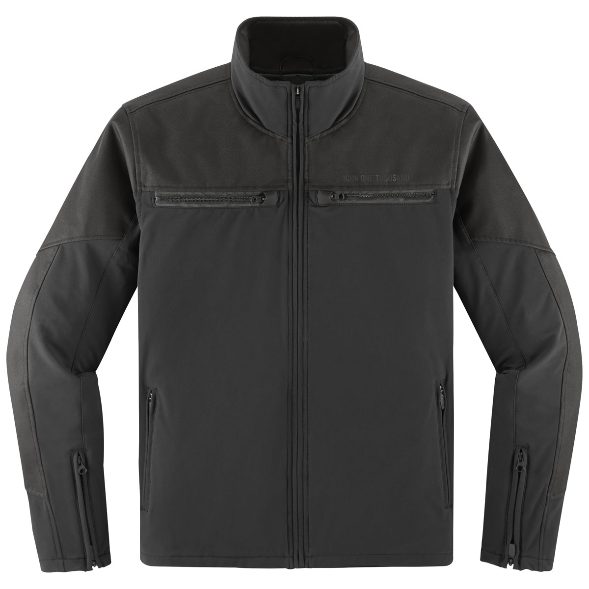 ICON One Thousand Men's Nightbreed Black Jacket