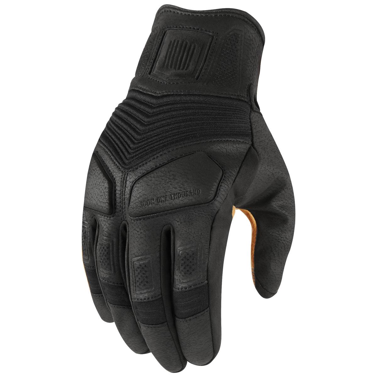 ICON One Thousand Men's Nightbreed Black Gloves