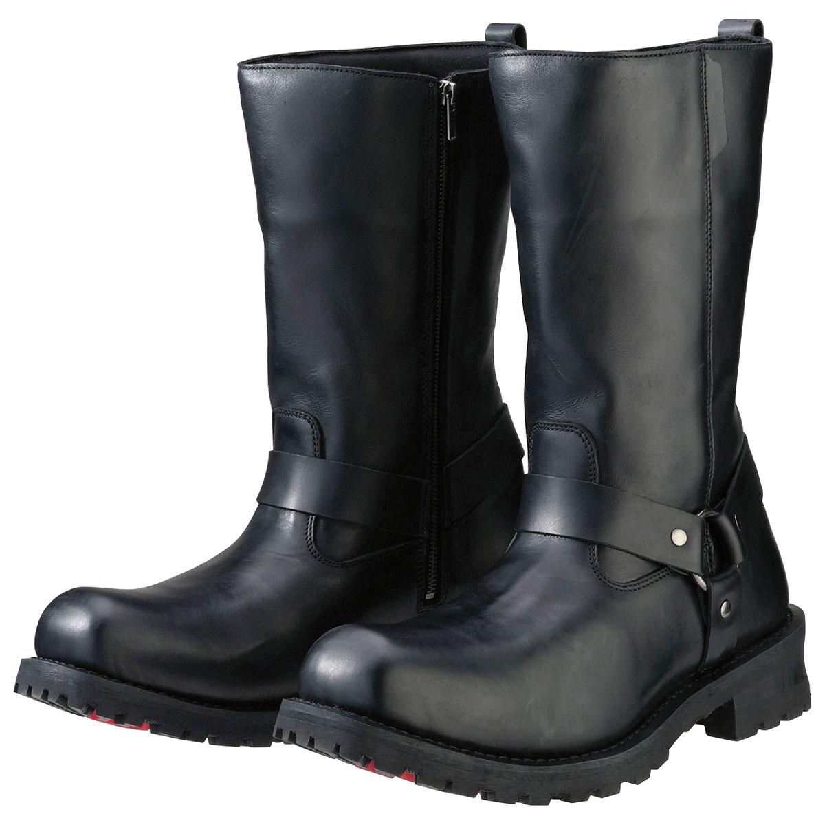 Z1R Men's Riot Black Leather Boots