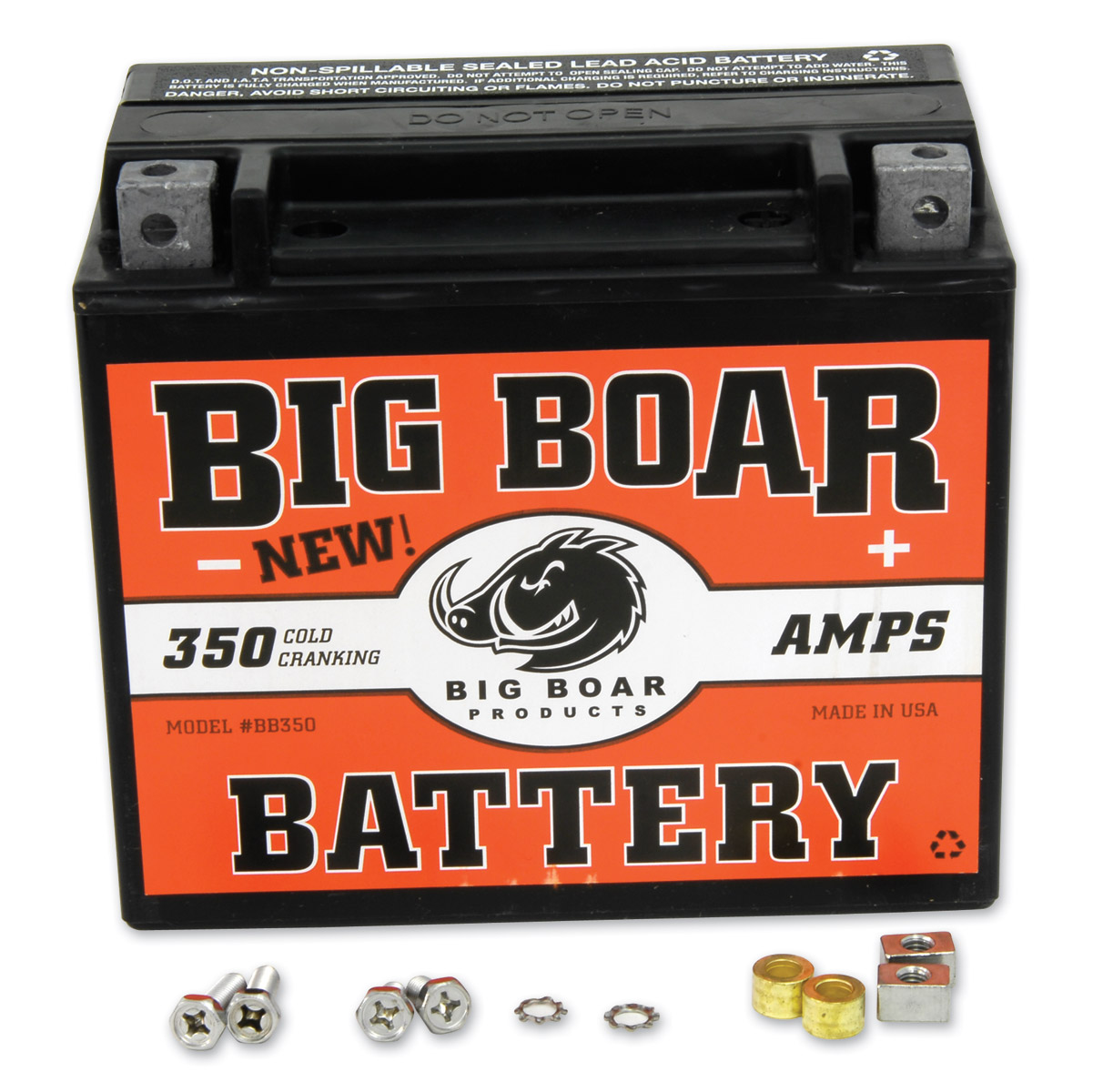 big boar battery | 350-074 | j&p cycles