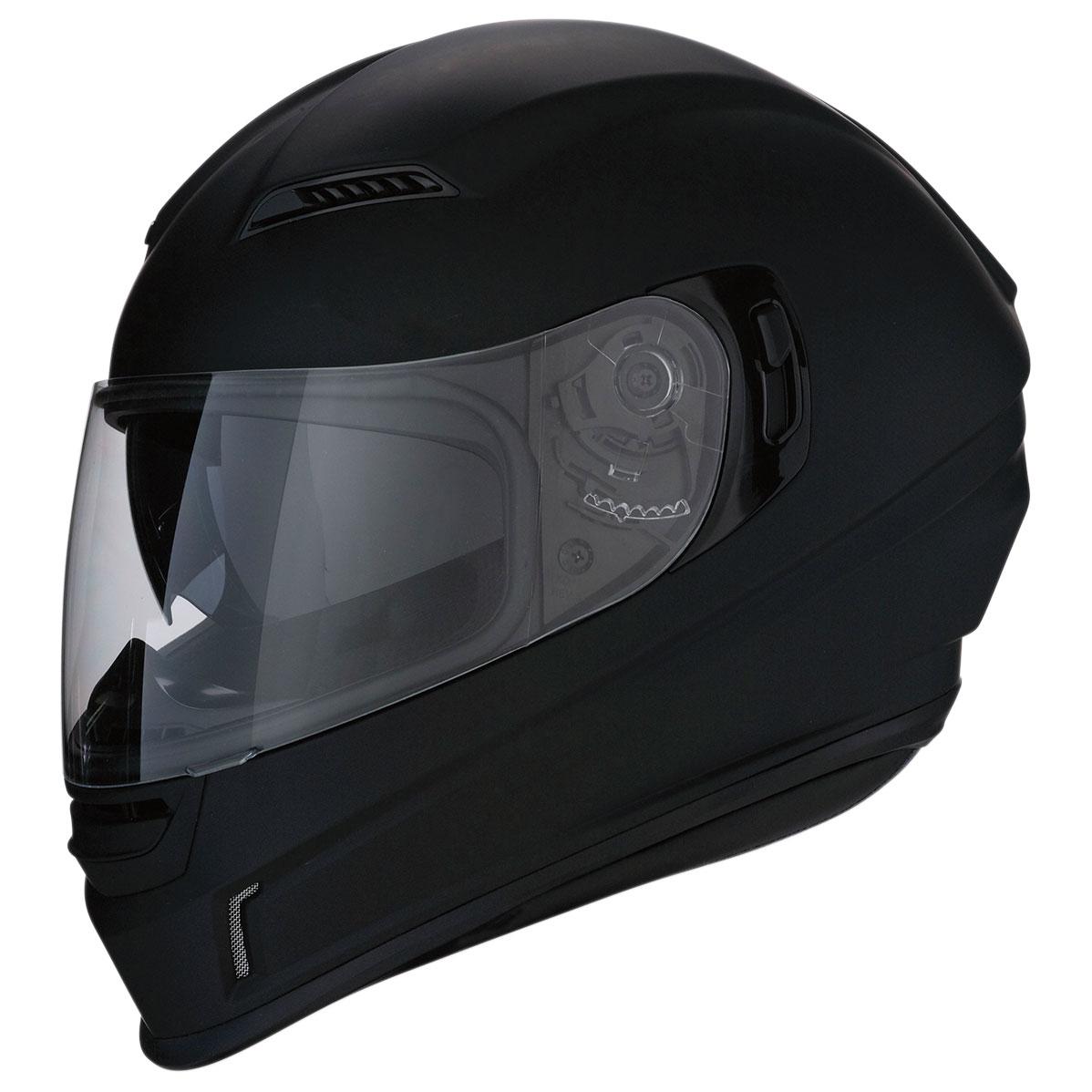 Z1R Jackal Matte Black Full Face Helmet