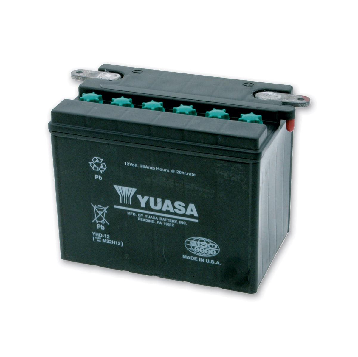 Yuasa Harley-Davidson Electrical & Batteries | J&P Cycles