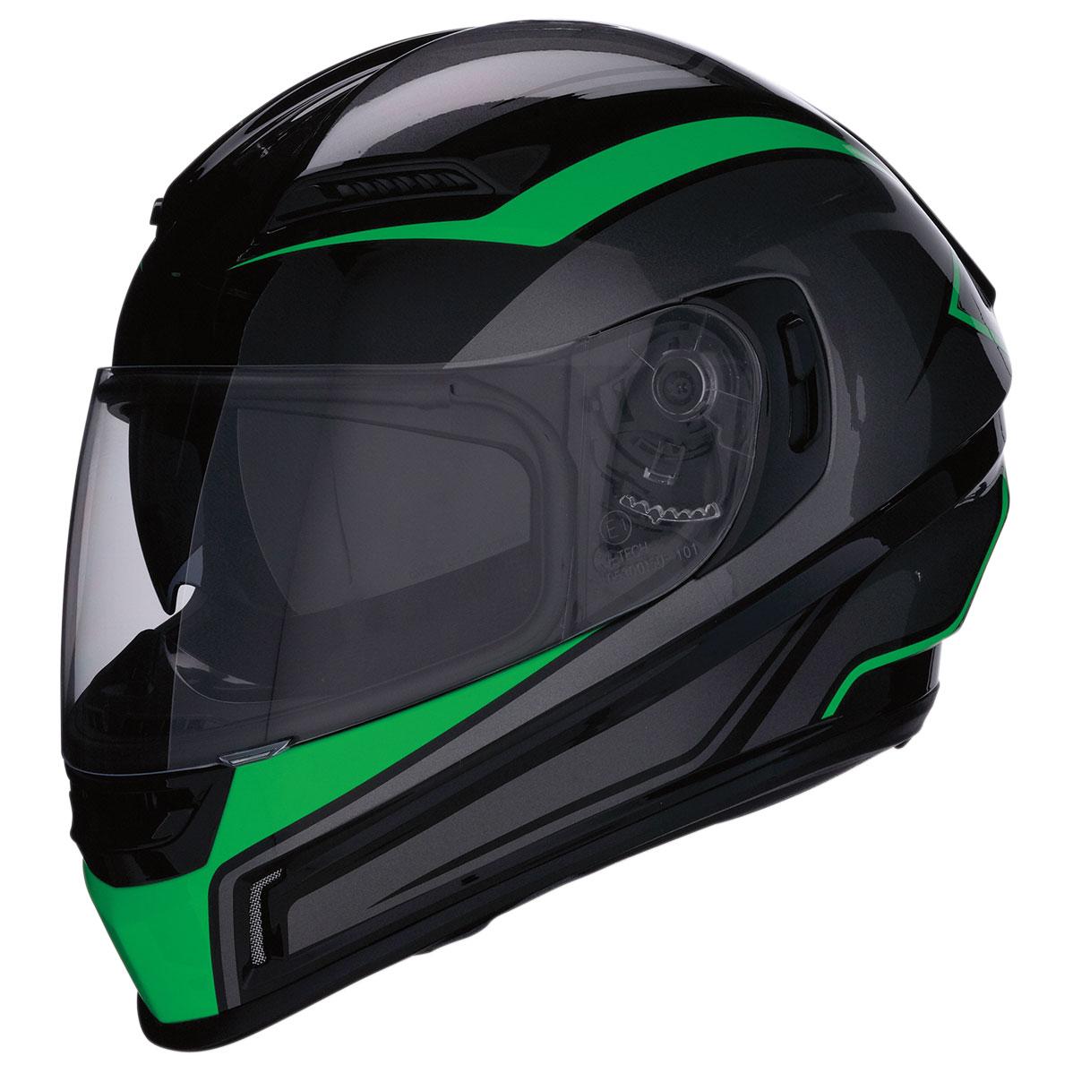 Z1R Jackal Green Full Face Helmet
