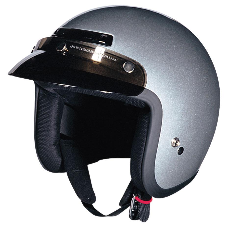 Z1R Jimmy Silver Open Face Helmet