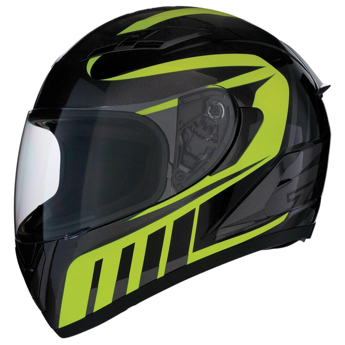 Z1R Strike Ops Attack Hi-Viz Full Face Helmet