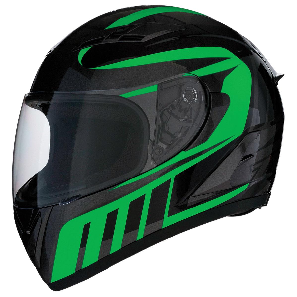 Z1R Strike Ops Attack Green Full Face Helmet