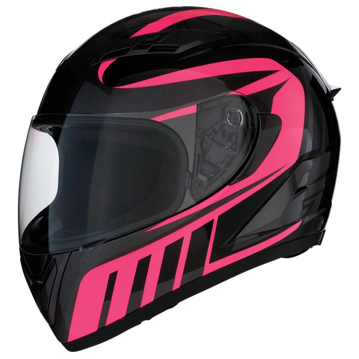 Z1R Strike Ops Attack Pink Full Face Helmet