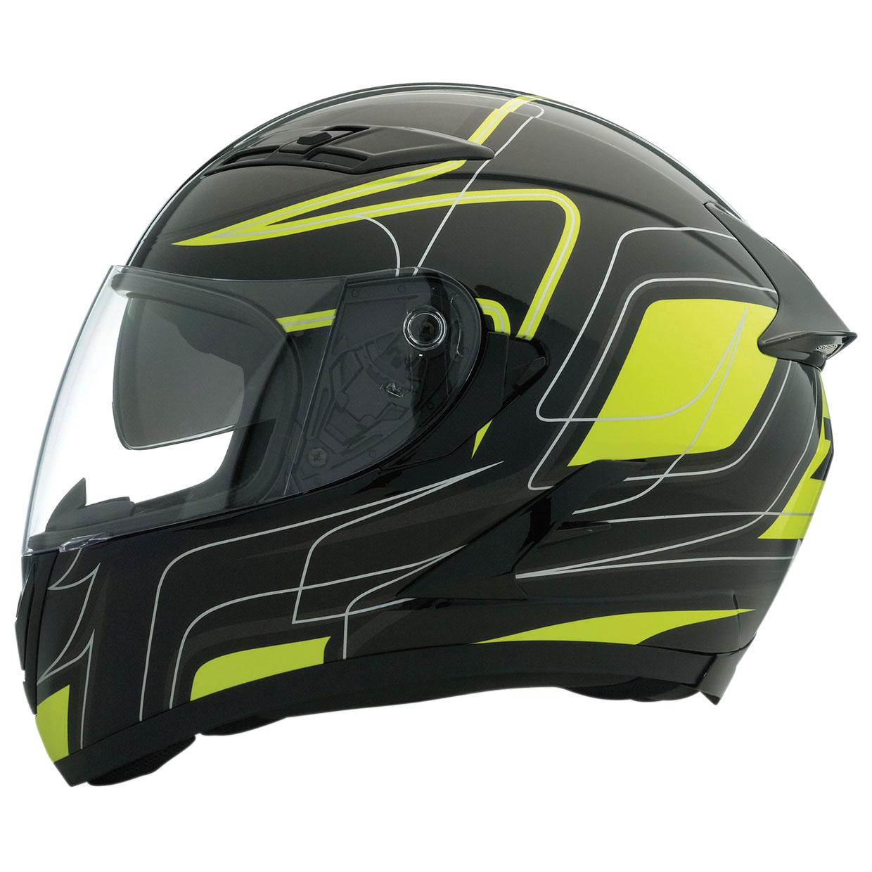 Z1R Stike Ops SV Black/Hi-Viz Full Face Helmet