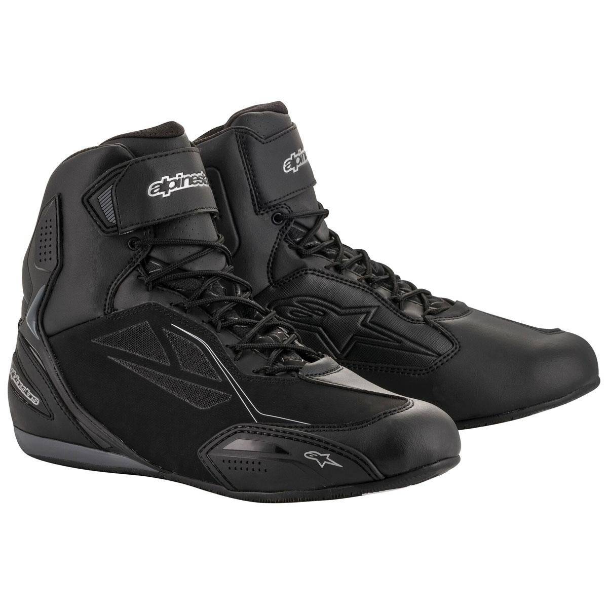 Alpinestars Women's Stella Faster-3 Drystar Black/Silver Boots