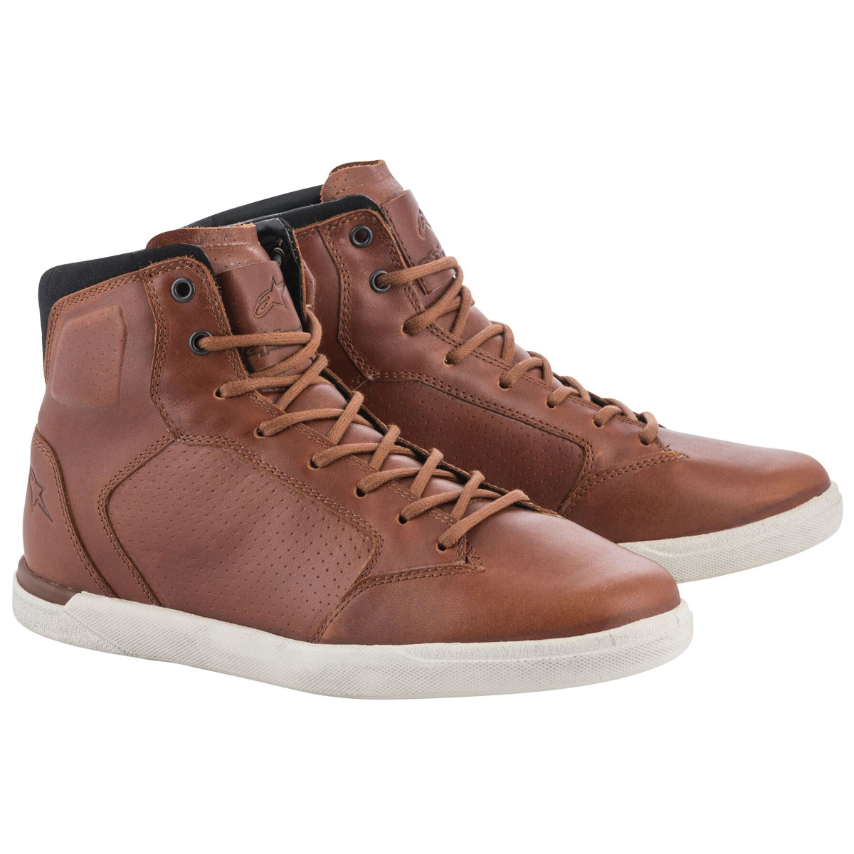 Alpinestars Men's J-Cult Brown Leather Shoes