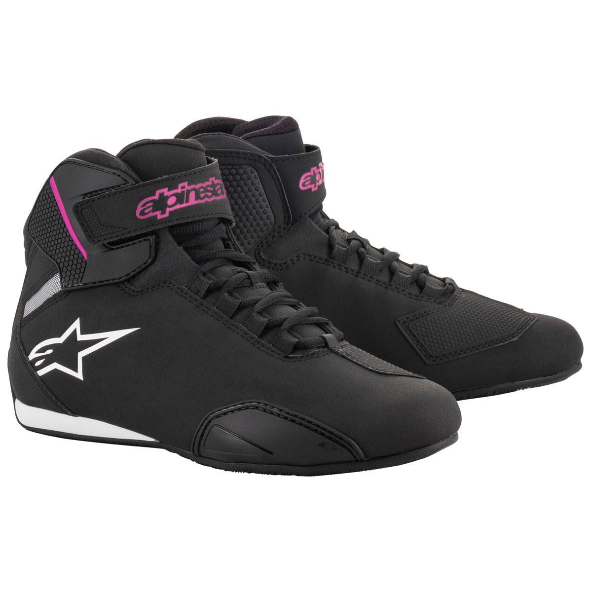 Alpinestars Women's Stella Secktor Black/Pink Riding Shoes