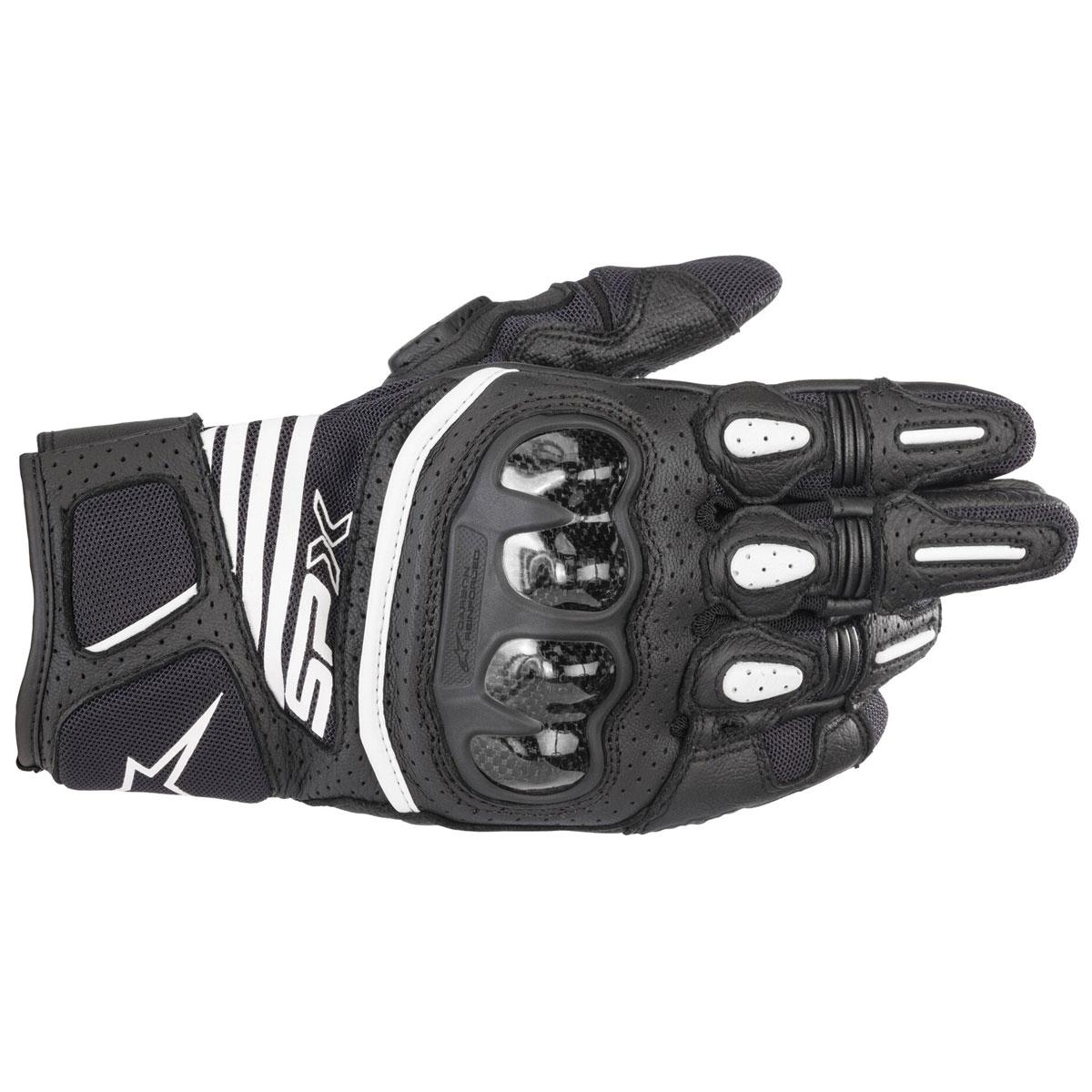 Alpinestars Men's SPX Air Carbon v2 Black Gloves