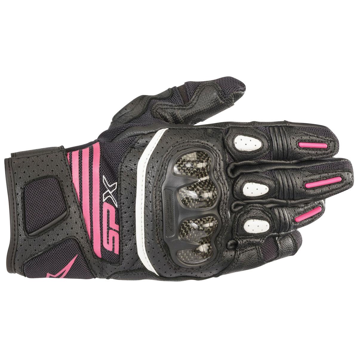 Alpinestars Women's Stella SPX Air Carbon v2 Black/Fuchsia Gloves