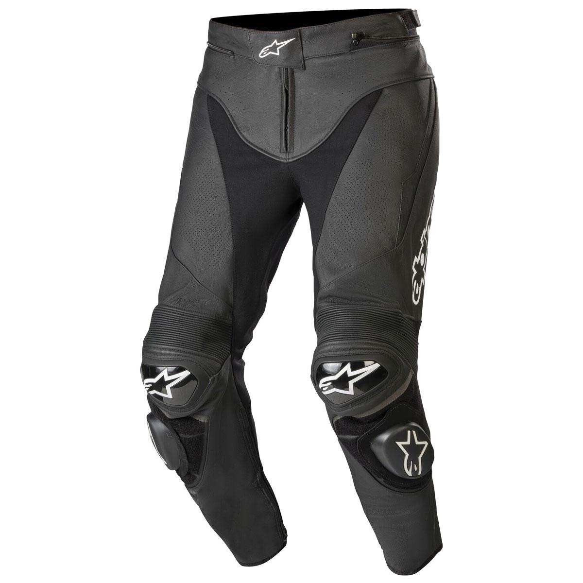 Alpinestars Men's Track v2 Black Leather Pants