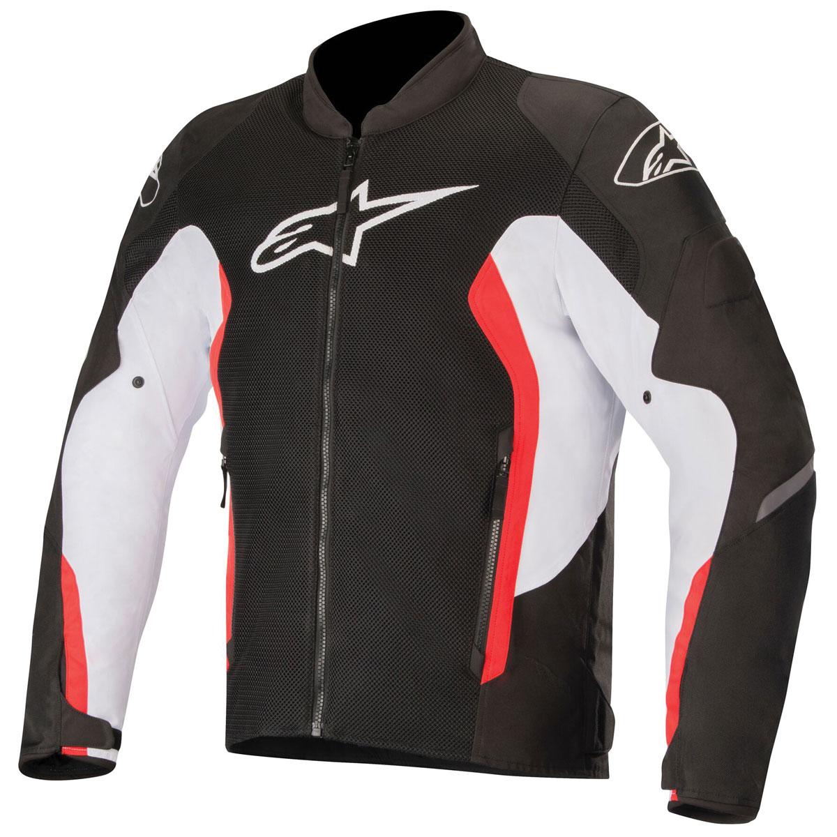 Alpinestars Men's Viper v2 Air Black/White/Bright Red Jacket