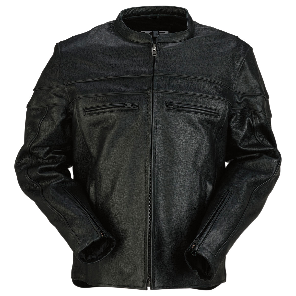 Z1R Men's Bastion Black Leather Jacket