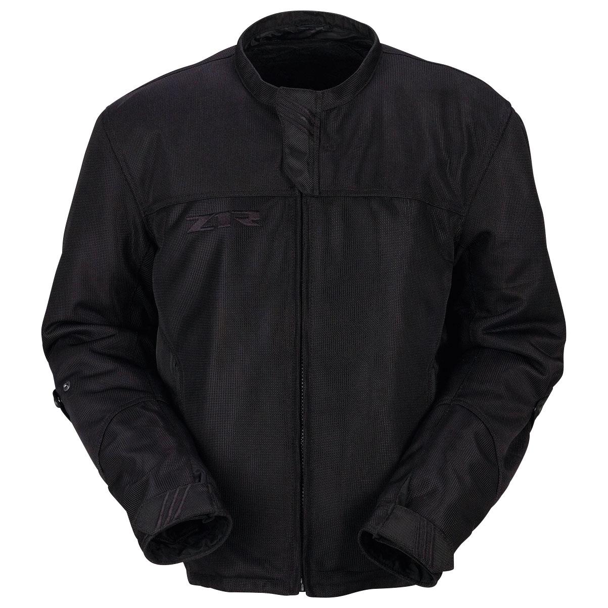 Z1R Men's Gust Mesh Black Jacket