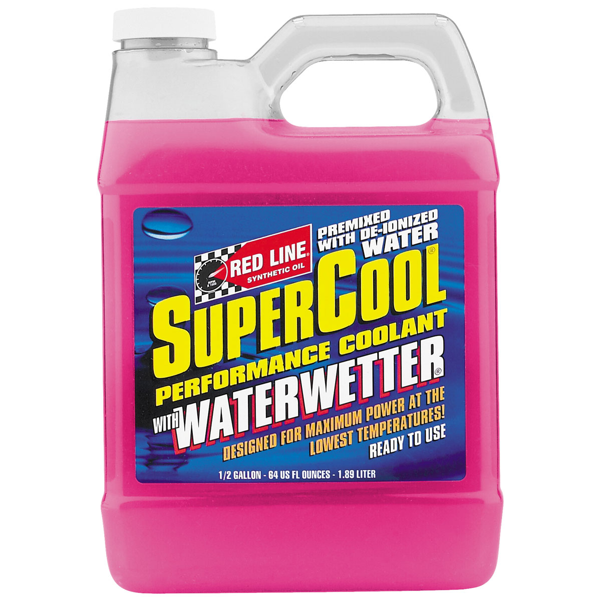 Red Line SuperCool Performance Coolant with WaterWetter