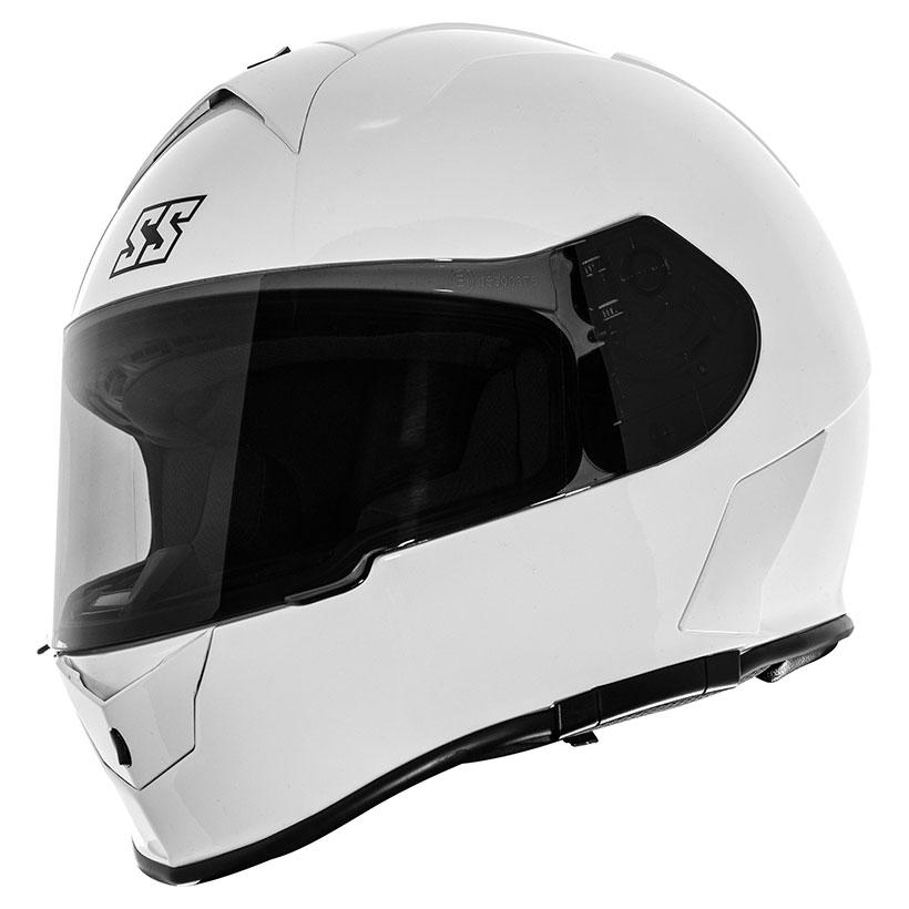 Speed and Strength SS900 White Full Face Helmet