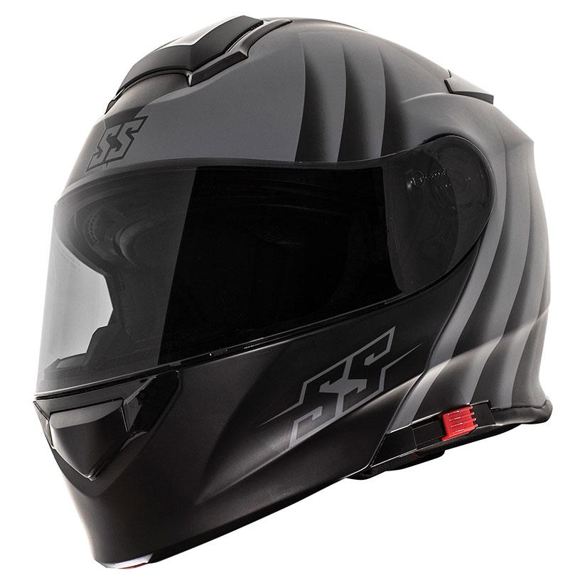 Speed and Strength SS4100 Spikes Gray Full Face Helmet