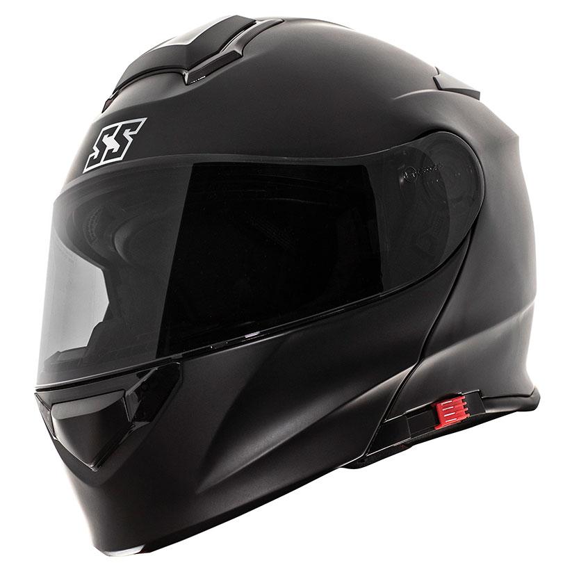 Speed and Strength SS4100 Satin Black Modular Helmet