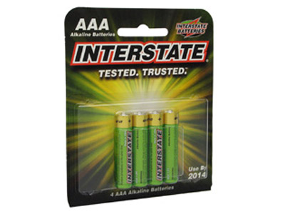 Interstate AAA Replacement Batteries