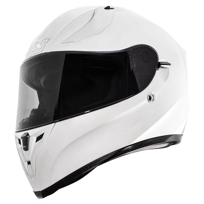 Speed and Strength SS2100 Satin White Full Face Helmet