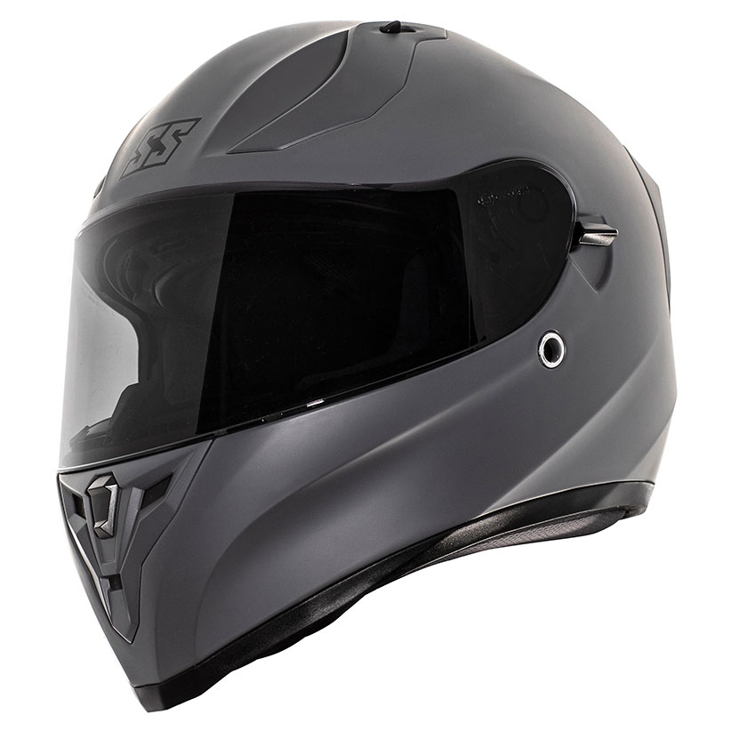 Speed and Strength SS2100 Satin Gunmetal Gray Full Face Helmet