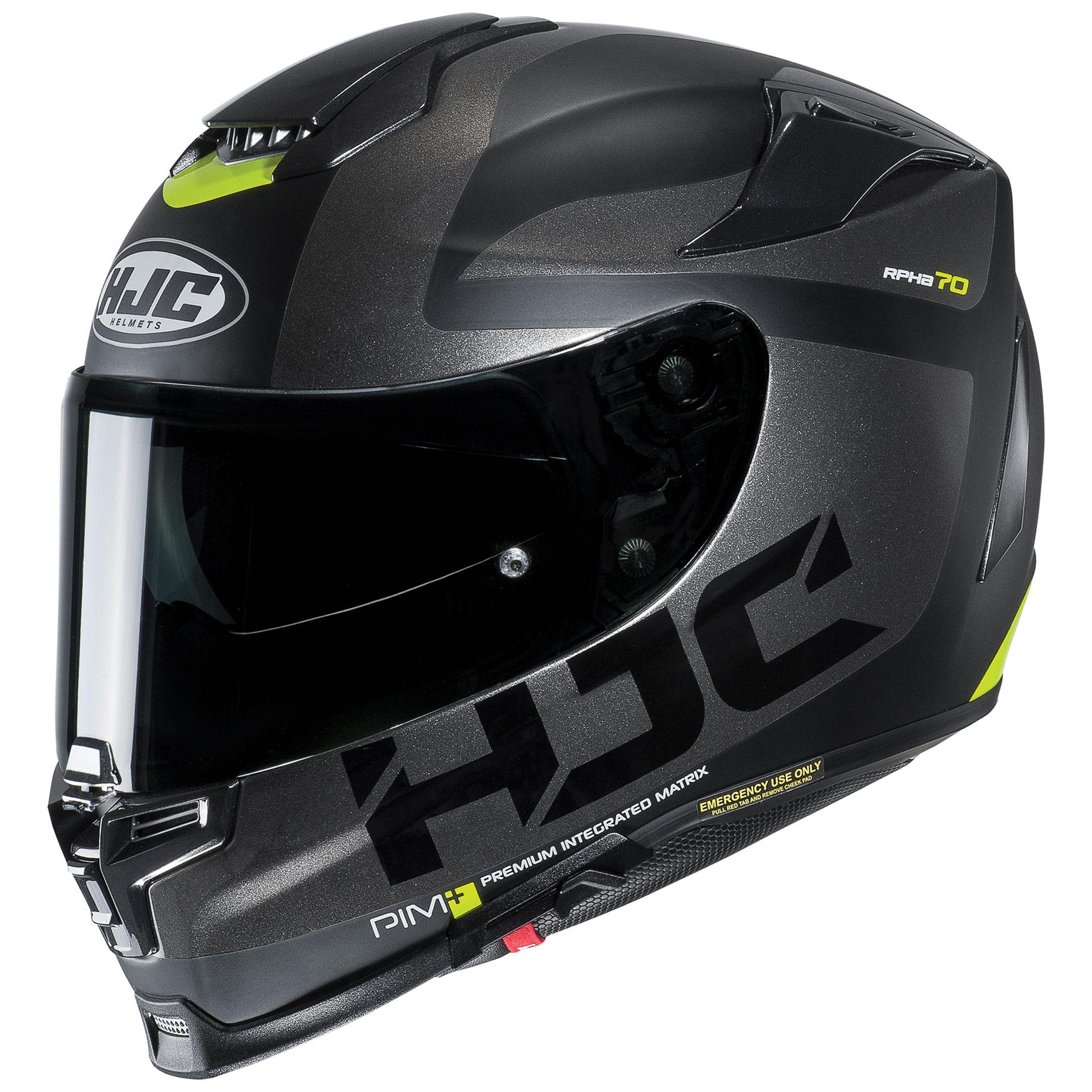 HJC RPHA 70 ST Balius Black/Silver Full Face Helmet