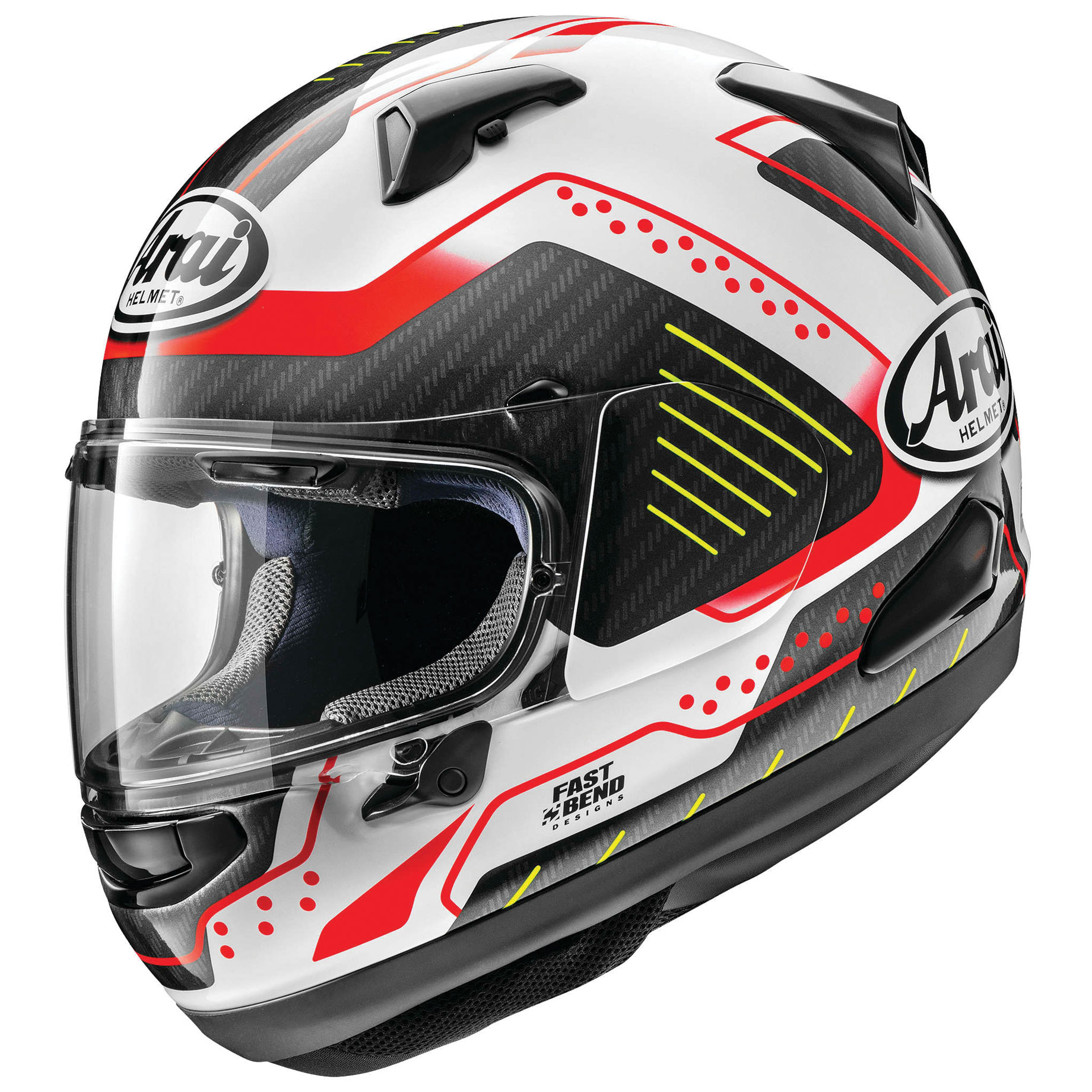 Arai Quantum-X Drone Red Full Face Helmet