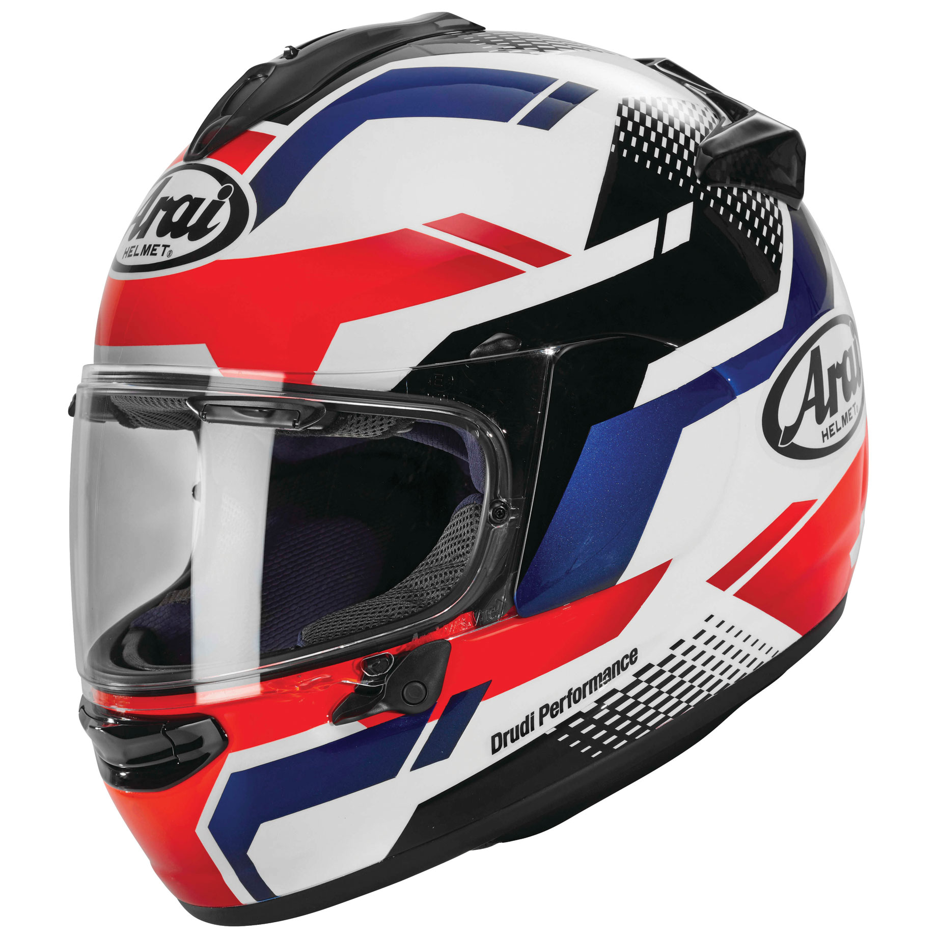 Arai Quantum-X Cliff Red/White Full Face Helmet