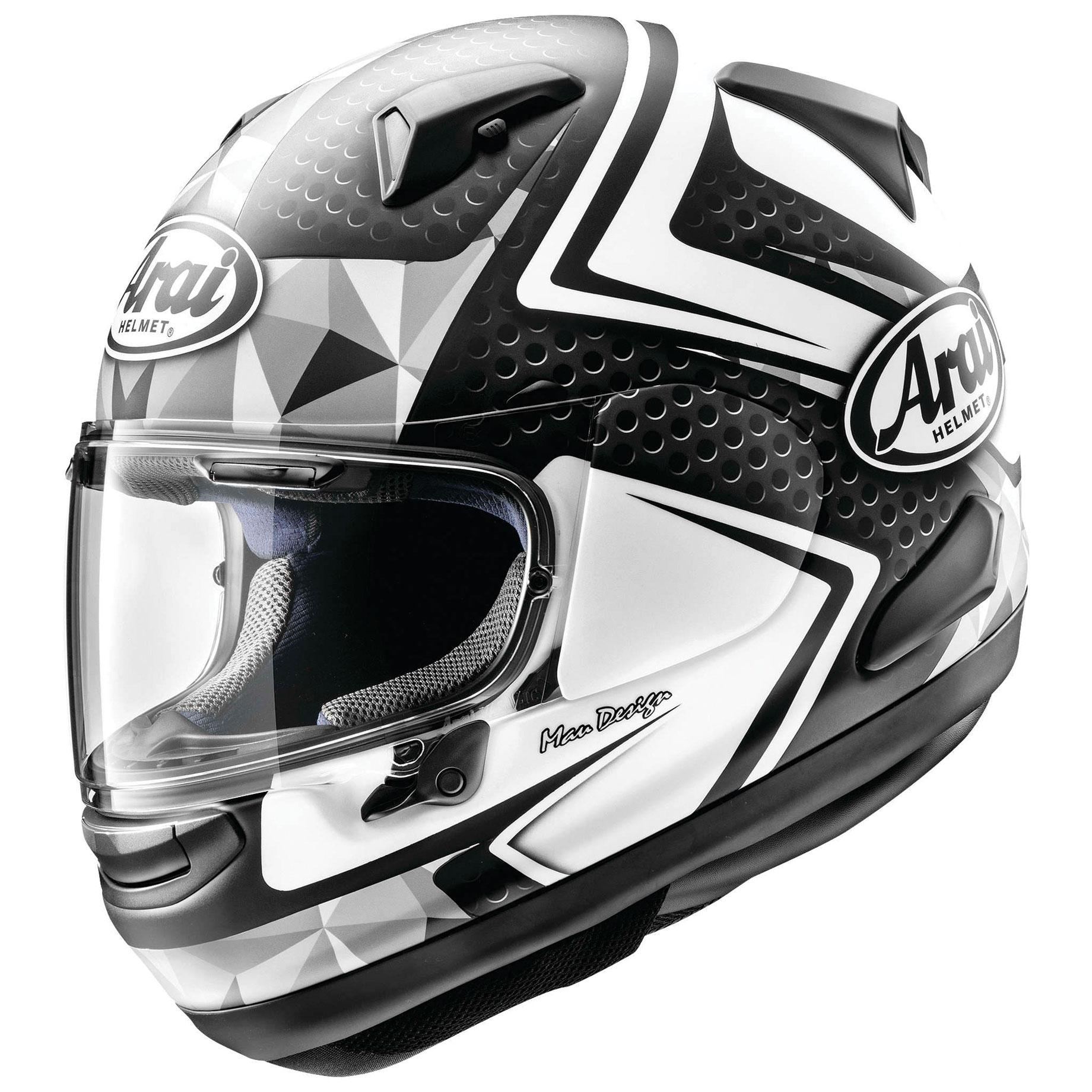 Arai Signet-X Dyno White Frost Full Face Helmet