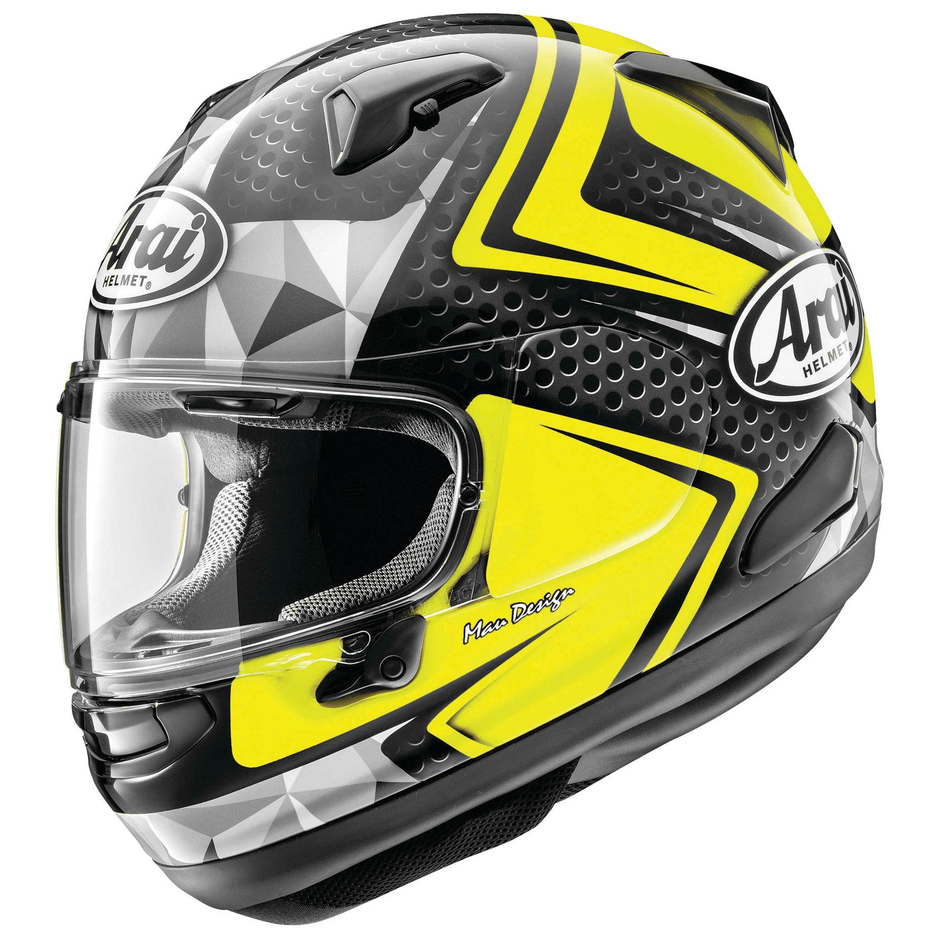 Arai Signet-X Dyno Yellow Full Face Helmet