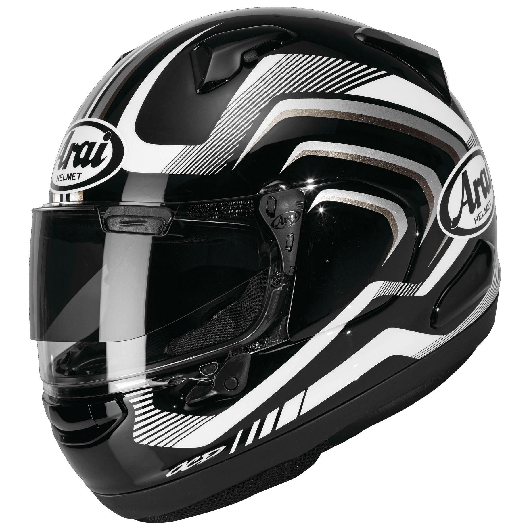 Arai Signet-X Shockwave Black Frost Full Face Helmet
