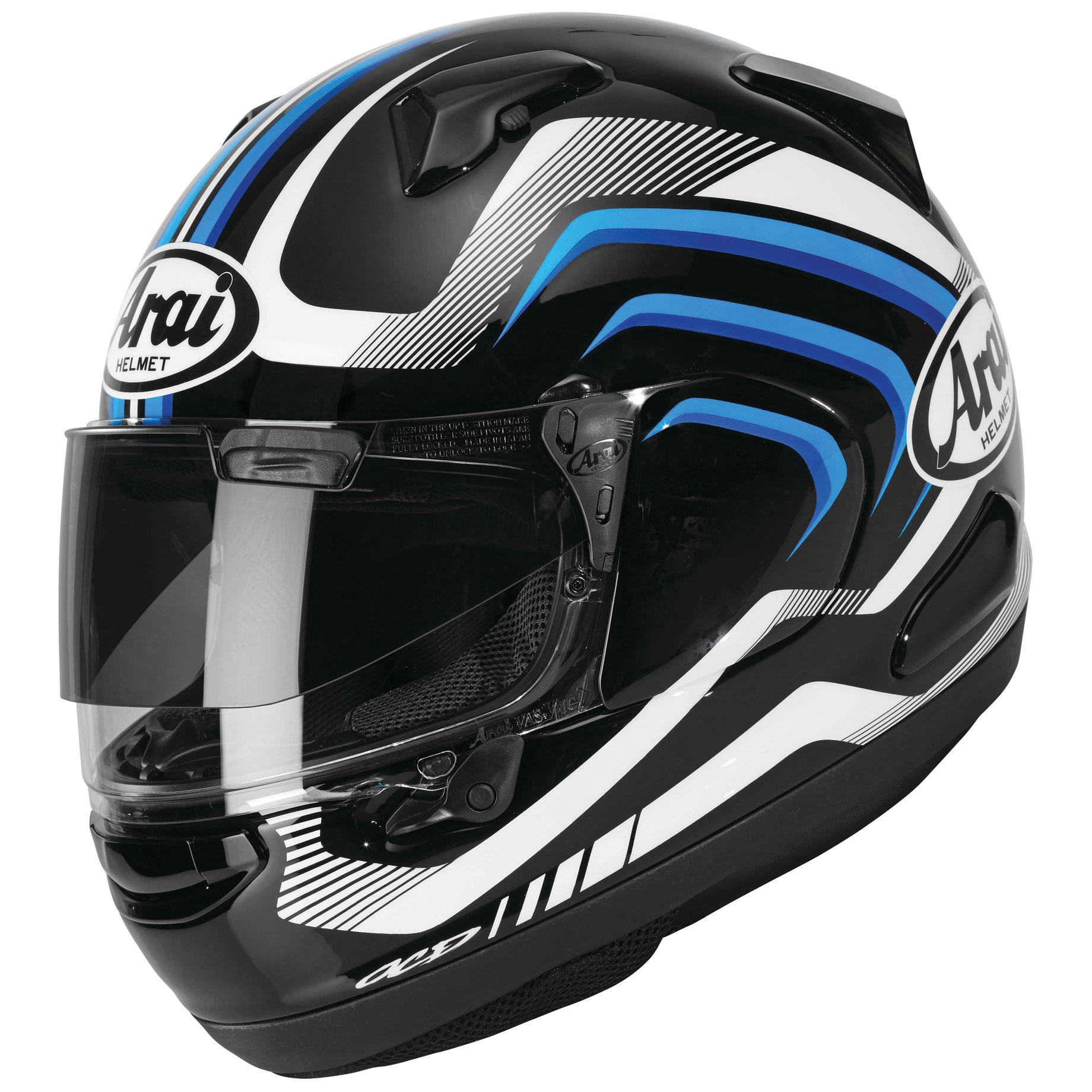 Arai Signet-X Shockwave Blue Frost Full Face Helmet