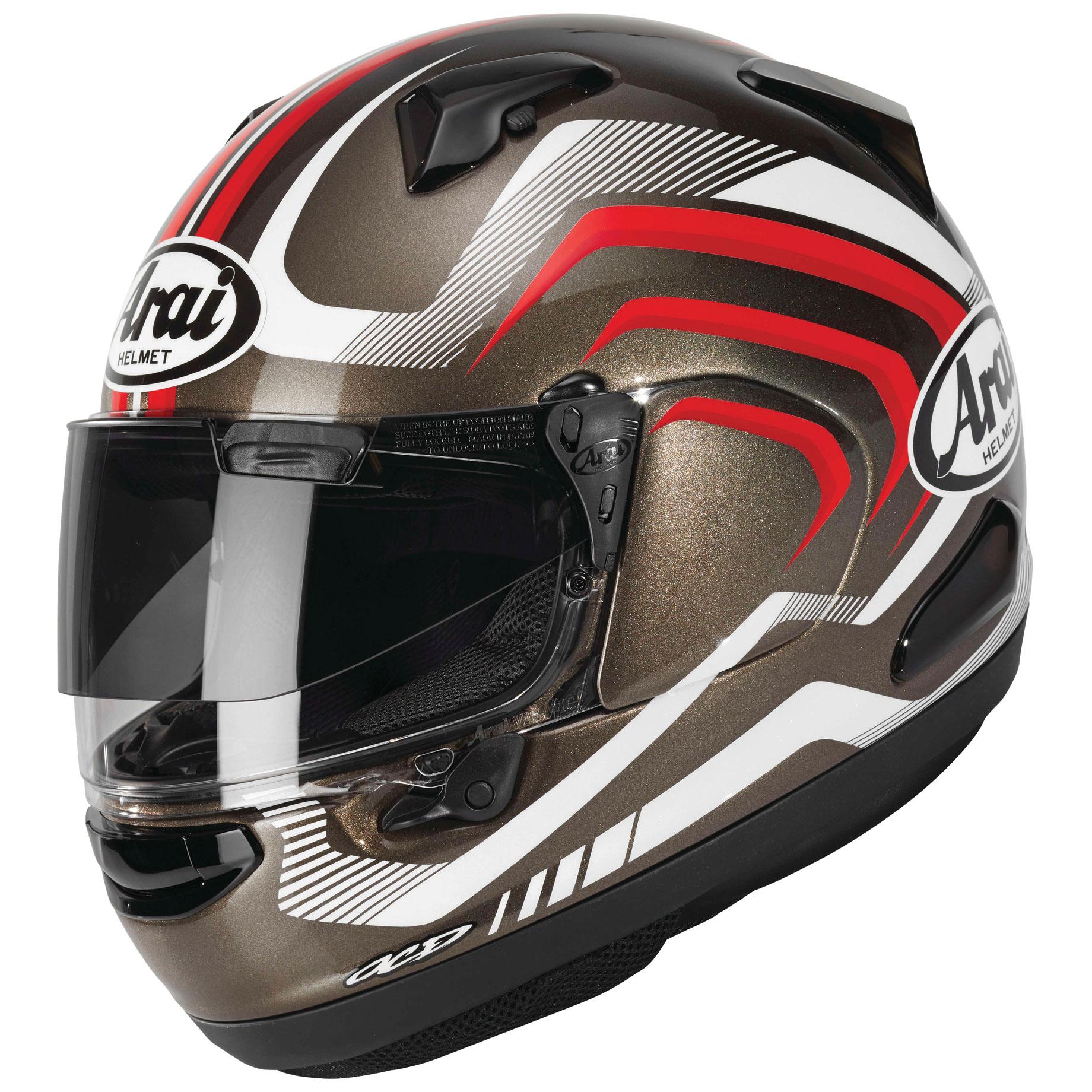 Arai Signet-X Shockwave Gray Frost Full Face Helmet