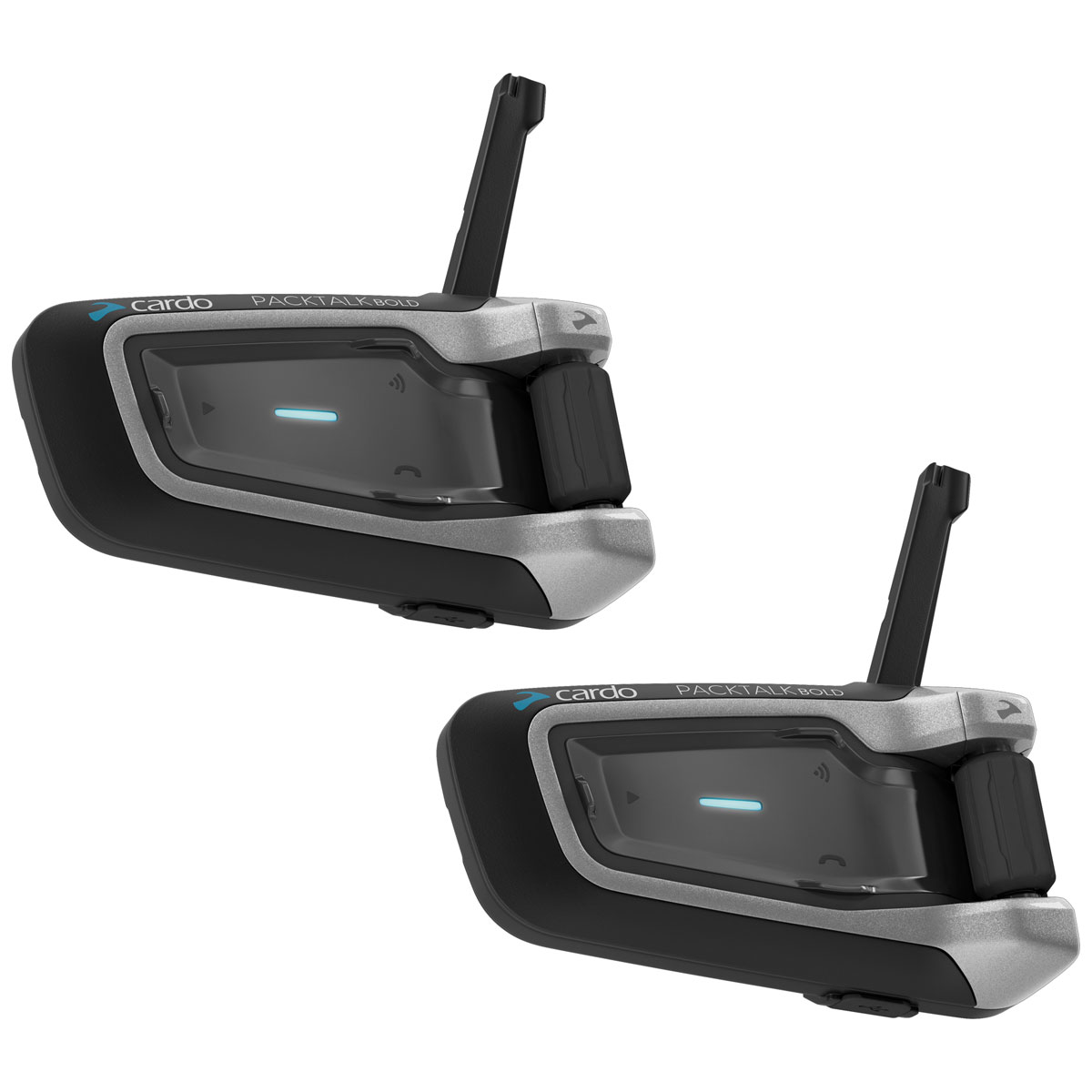 Cardo PackTalk Bold with JBL Audio Duo Bluetooth Communication System