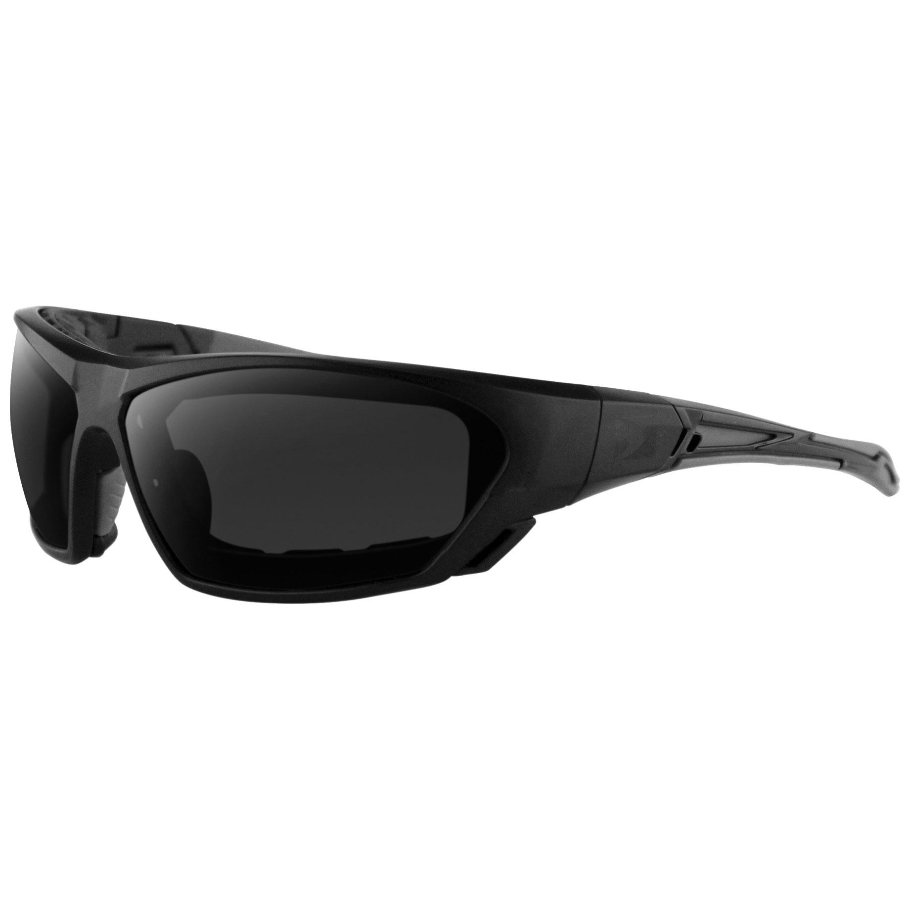 Bobster Crossover Convertible Matte Black Sunglasses