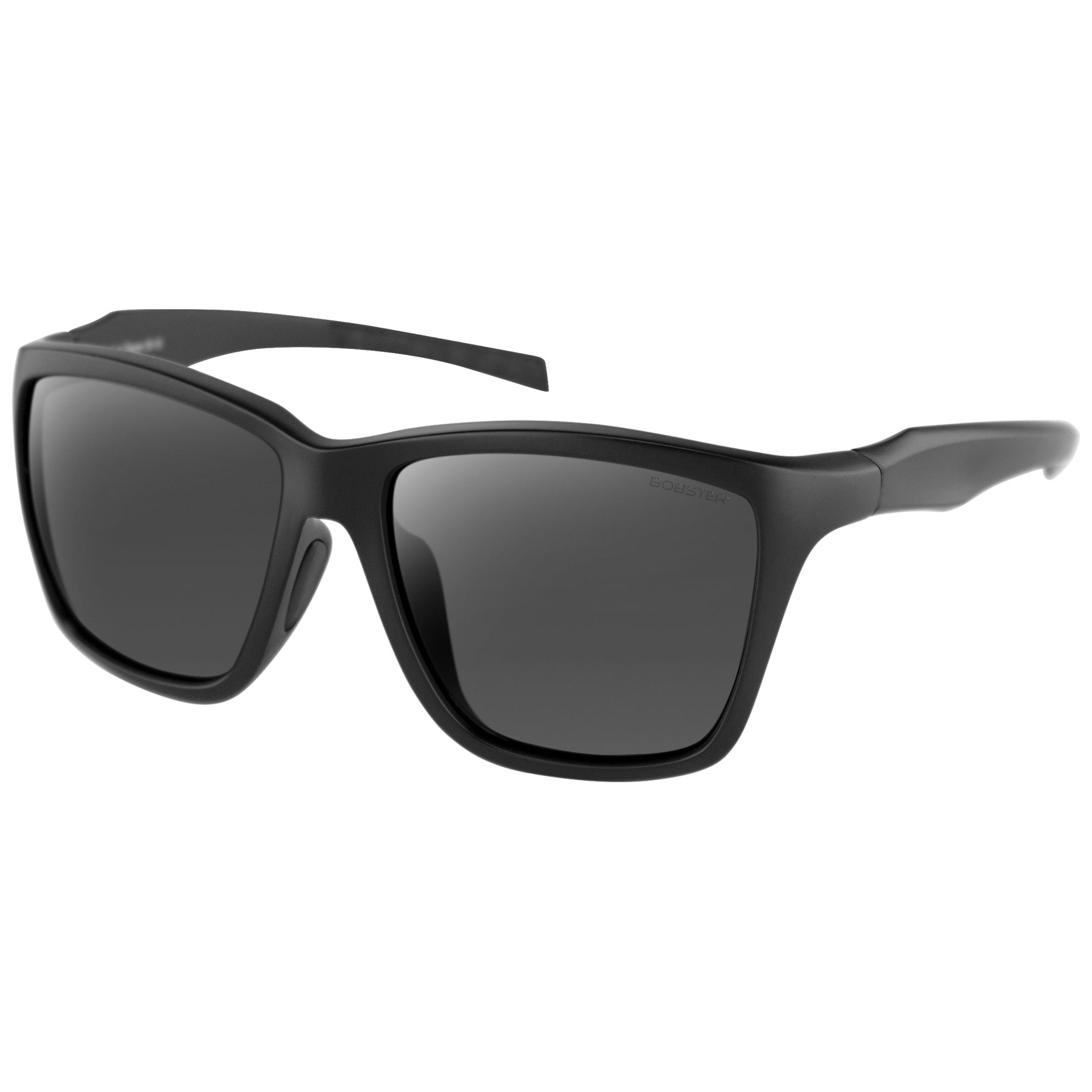 Bobster Anchor Black Sunglasses with Smoke Lens