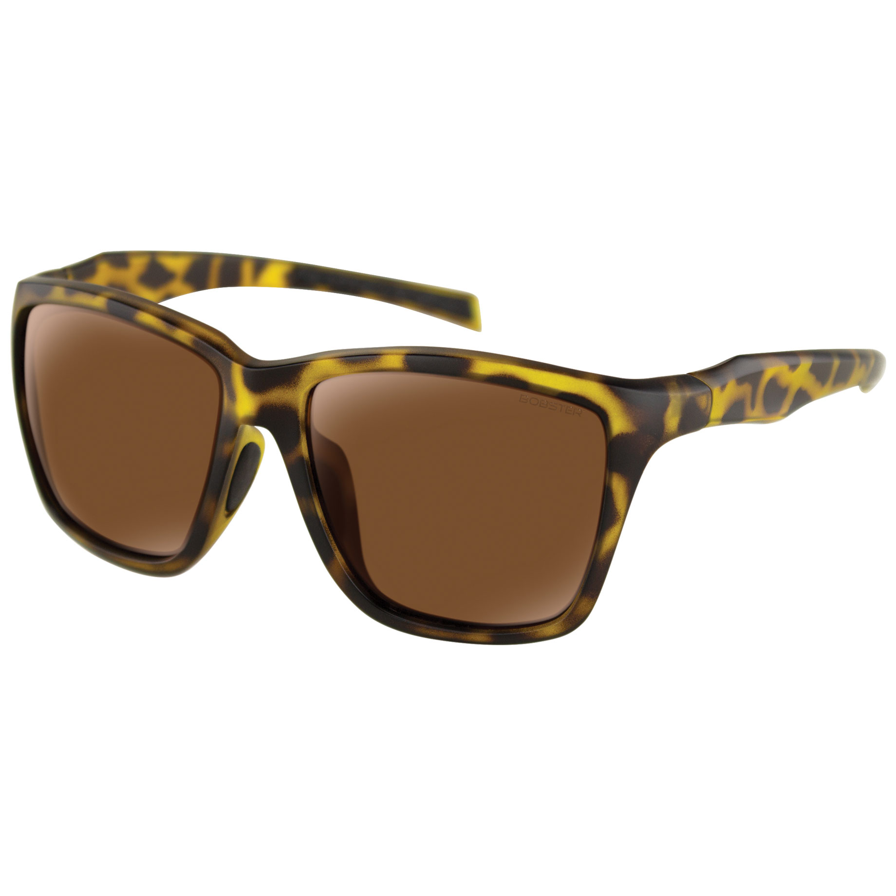 Bobster Anchor Tortoise Sunglasses with Brown Lens